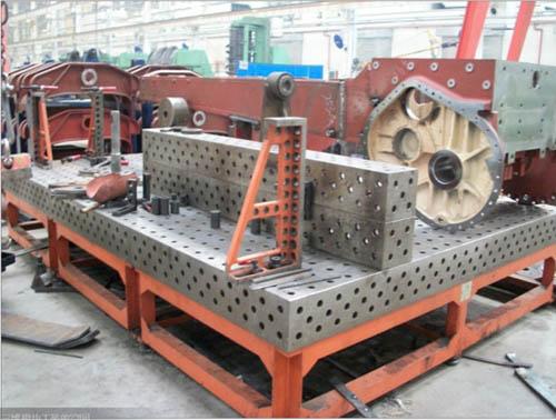 三维柔性焊接平台工作平板